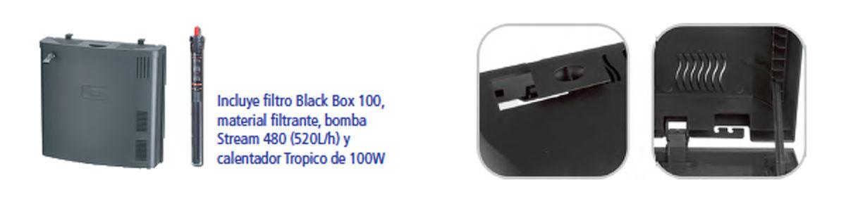 Detalle filtracion black box