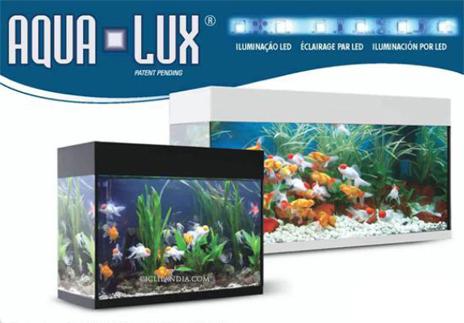 Acuarios aqua lux completamente equipados