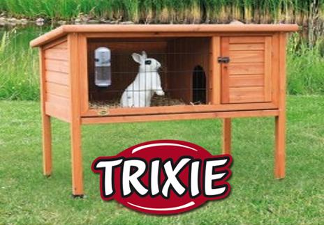 Casetas de conejos trixie