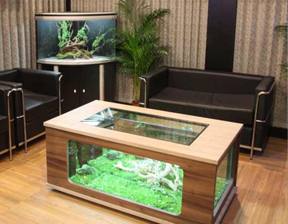 Acuario aquatlantis aquatable 100 x 63 - Peceras de diseno ...