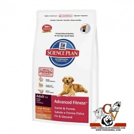 Adult Advanced Fitness Large Breed con Cordero y Arroz