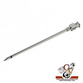 Aguja metalica mamaria con luer lock