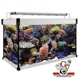 kit Acuario Aqua Lux Pro Marino 120 litros