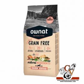 Ownat Grain Free salmon & seafood