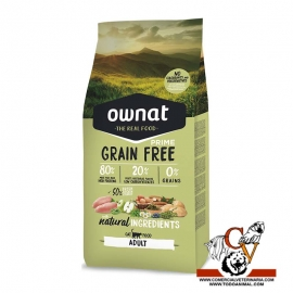 Ownat prime grain free chicken & turkey gato