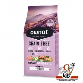 Ownat Prime Grain Free Sterilised