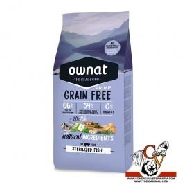 Owna Prime Grain Free Sterilized Fish