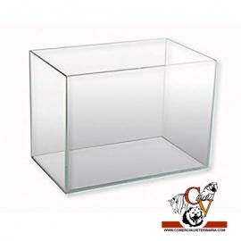 Acuario 10 litros solo cristal