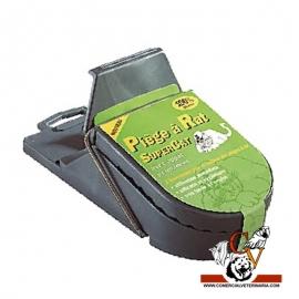 Trampa PVC para ratas con cebo