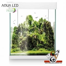 Acuario Nano Aqua Led RGB 30 litros