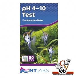 Test de PH de 4 a 10 para agua dulce