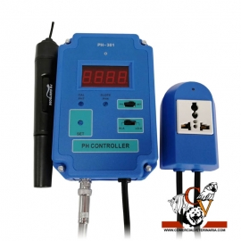Controlador de pH para reactores de calcio y CO2