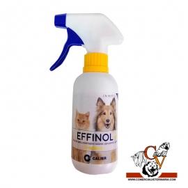 Effinol spray antiparasitario para perros y gatos