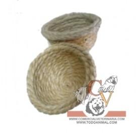 Nidos de cuerda para pequeños pajaros