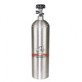 Botella Aluminio CO2 grande (3 L)