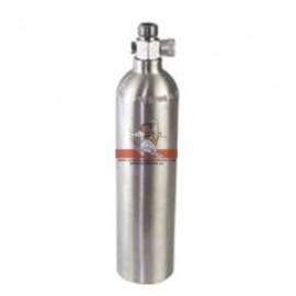 Botella Aluminio CO2 pequeña (1 L)