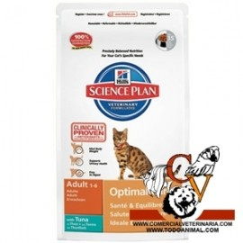 Hill's Science Plan Feline Adult Optimal Care (atun)