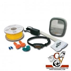 Limitador de zona exterior con cable para perros pequeños