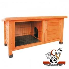 Caseta Baja para Conejos