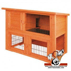Caseta Duplex para Conejos