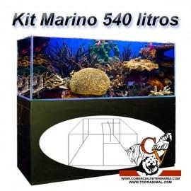 Kit cubic Marino Completo 540 Litros con sumidero
