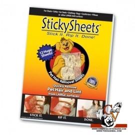 Hojas quitapelos Stickysheets
