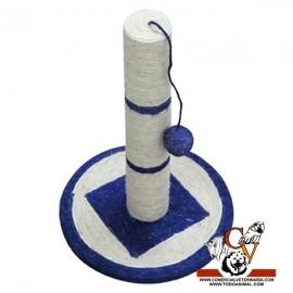 Rascador Circulo Azul con Pelota