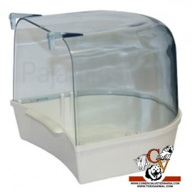 Bañera con cubierta