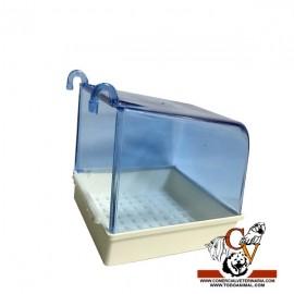 Bañera con cubierta rectangular