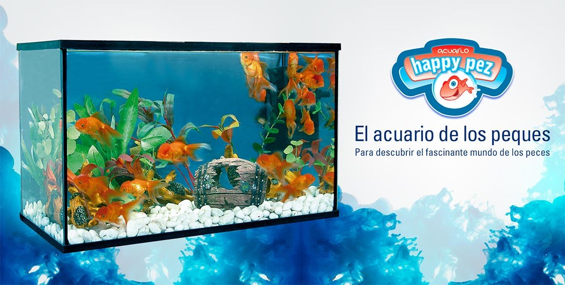 acuario Happy pez